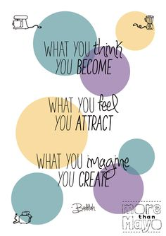 What you think you become - www.morethanmayo.com