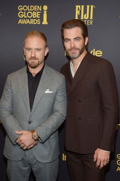 Chris Pine Photos Photos - Ben Foster and Chris Pine arrive at the Hollywood Foreign Press Association and InStyle celebrate the 2017 Golden Globe Award Season at Catch LA on November 10, 2016 in West Hollywood, California. - Hollywood Foreign Press Association And InStyle Celebrate The 2017 Golden Globe Award Season