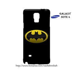 Batman Superhero Samsung Galaxy Note 4 Case Cover Wrap Around