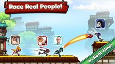 NinJump Dash is a live, multiplayer racing game featuring your favorite characters from NinJump, the mega-hit game enjoyed by millions of players around the world.