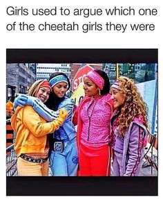 Which Old School Disney Channel Original Movie Are You? I am The Cheetah Girls! I was hoping for HSM but LOVE Cheetah Girls too! The Cheetah Girls, Funny Memes, Hilarious, Funny Quotes, Real Quotes, Stupid Funny, Back In The 90s, Love Amor, 90s Kids