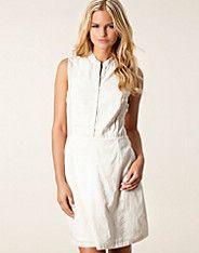 Del Rey Dress - Neuw - Valkoinen - Mekot - Vaatteet - NELLY.COM