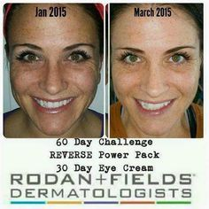 Take the 60 Day Challenge!! Your face will Thank You!!#RodanandFields #Anti-Aging #Skincare #Regimen #Younger-Looking #Line-Diminishing #Healthy #Beauty #Youthful #Skin #Ageless #Men #Women #Soothe #Redefine #Reverse #Unblemish
