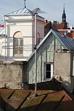 Rooftops in Tallinn