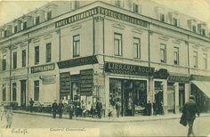 Galati - Hotelul Continental(Domneasca colt cu Lahovary)-unde se afla acum Galeriile de arta N.Mantu