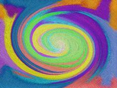 se trata de una imagen abstracta en la que predominan los colores llamativos,aprendí bastante al realizar varias ,aunque elegí esta.