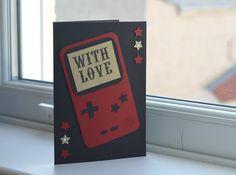 Handmade Gameboy Greetings Card by beacreative1 on Etsy, £2.00