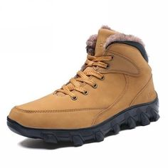 separation shoes 6ceff 661db Men s Winter Snow Boot- Black, Yellow