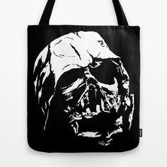 The Dark Side Tote Bag by veeladwa Dark Side, The Darkest, Reusable Tote Bags, Stuff To Buy
