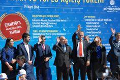 Çekmeköy'e 445 Milyon 71 Bin TL Yatırım  İBB'nin Çekmeköy'e 445 Milyon 71 Bin TL yatırımları, toplu açılış töreni ile...