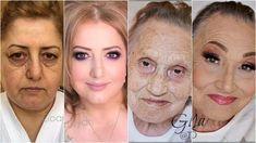 Makeup Contouring And Highlighting: What You Need To Know Contour Makeup, Skin Makeup, Mature Women Hairstyles, Curly Hairstyles, Wedding Hairstyles, Deep Set Eyes, Makeup Tutorial Step By Step, Power Of Makeup, Makeup Hairstyle