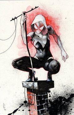 Spider-Gwen by Jason Shawn Alexander *                                                                                                                                                                                 More