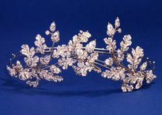 Acorn and Oak Leaf Diamond Set Tiara c.1855. © Trustees of the British Museum.