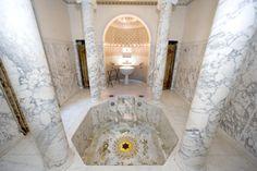 Balaneion, baths of this greek Villa in Beaulieu, France