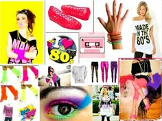 80's Fashion Outfit Ideas