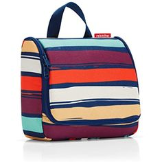 reisenthel Toiletbag Toiletry Travel Organizer, Artist Stripes *** Read more  at the image link. (This is an affiliate link and I receive a commission for the sales) #ToolsAccessories