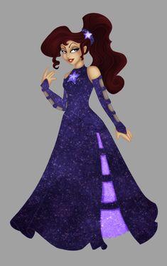 Megara . Christmas Dress