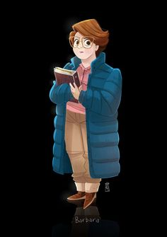 "Here was my warmup from this morning. Barbara from ""Stranger Things"". From the…"