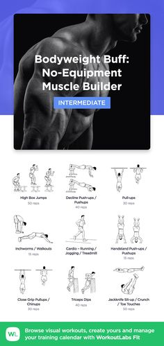 42 best workouts for men images in 2019  printable