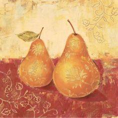 Paisley Pears I (Stefania Ferri)