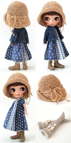 ** Blythe outfit ** Lucalily 289**の画像:mahounote. もっと見る