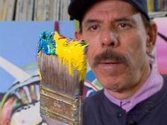Painter Peter Max At Work - video interview from CBS News