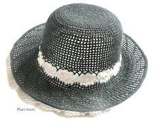 Mari mami munkái   Mari mami s needlework  Horgolt kalap 0183d6d715