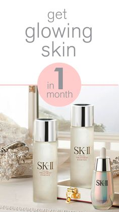 It's possible to get glowing skin in one month! The right bridal skincare routine can give you radiant skin just in time for your wedding. SK-II's brightening range of skincare products are specifically created to brighten the skin and even skin tone. Learn the simple steps to your most radiant skin in just 4 weeks: http://www.sk-ii.com/luxury-skin-care-tips/get-glowing-skin-in-a-month.html?cm_mmc=Pinterest-_-Epop2016-_-Campaign-_-Cellumination