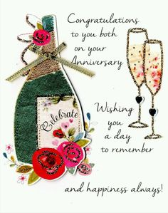 97 Anniversary Quotes Marriage Anniversary Wishes 13 Anniversary Cards For Couple, Marriage Anniversary Quotes, Anniversary Wishes For Friends, Wedding Anniversary Greetings, Happy Wedding Anniversary Wishes, Quotes Marriage, Birthday Greetings, Wedding Congratulations Quotes, Birthday Wishes