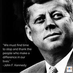 Gratitude #JFK