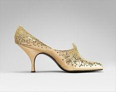 Shoes, Roger Vivier for Dior, 1954,   The Metropolitan Museum of Art #rogervivierheels