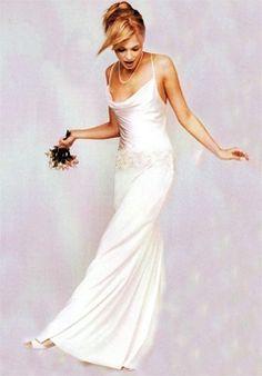 Nicole Miller Ea0008 Yoke Gown Wedding Dress $500