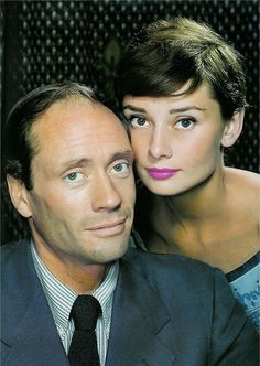 Audrey Hepburn and Mel Ferrer. Audrey was married to the controlling Mel Ferrer during the pre production of Breakfast at Tiffany's. It was Audrey's better judgement forsight that motivated her to accept the role of Holly. Audrey Hepburn Born, Audrey Hepburn Photos, Ingrid Bergman, British Actresses, Actors & Actresses, Classic Hollywood, Old Hollywood, Divas, Cinema