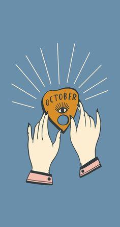 October Wallpaper, Calendar Wallpaper, Fall Wallpaper, Wallpaper Backgrounds, Iphone Backgrounds, Screen Wallpaper, Wallpaper Quotes, Pretty Phone Wallpaper, Aesthetic Iphone Wallpaper