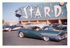 "fifties-sixties-everyday-life: "" The Stardust Hotel and Casino, Las Vegas, circa 1950s. """