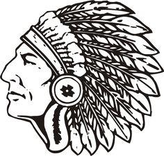 High School Indian Mascot Clipart - Clipart Kid
