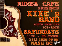 Good Food & Music!! Saturdays #rumbacafe