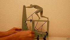 Sisyphus Machine Using Gears To Imitate Organic Movement