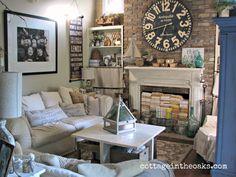 living room estilo cotagge - Buscar con Google