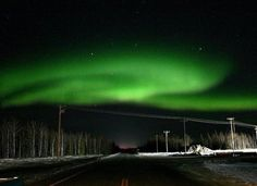 "#Alaska: View Northern Lights in the U.S. Northern Lights and stars in Alaska     Why Go: Alaska's location within ""the zone"" means you're almost guaranteed to see spectacular light displays. Be sure to move further away from city lights of Fairbanks into the region's vast wilderness areas of Denali and the Yukon Territory."