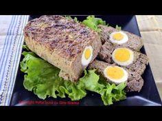 DROB de miel reteta traditionala | Gina Bradea - YouTube Romanian Food, Avocado Toast, Carne, Bacon, Food And Drink, Cooking, Breakfast, Recipes, Easter