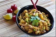 Thai Fried Quinoa