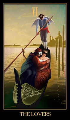 Venetian Carnival Tarot (Eugene Vinitsky, work in progress) - If you love tarot, visit me at www.WhiteRabbitTarot.com