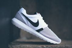 new products e9004 17c92 Nike Roshe Run NM BR - White - Black - SneakerNews.com