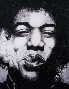 Hendrix by phantomphreaq