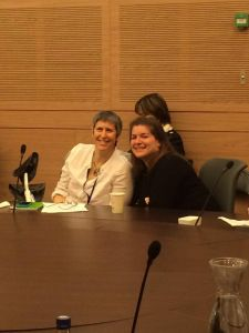 This is a transcript of the speech that Shutaf co-founder, Beth Steinberg, gave at the Knesset this morning in celebration of International Women's Day!