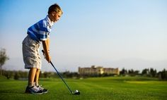 54% Off Kids' Golf Lessons at Tiny Tees Golf
