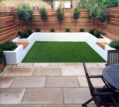 50 Awesome Modern Garden Architecture Design Ideas is part of Garden makeover - With regards to designing a garden, there are two distinct methods of insight about how to do it In any case, the two theories can genuinely be viewed as craftsmanship Read Back Garden Design, Modern Garden Design, Backyard Garden Design, Modern Backyard, Small Backyard Landscaping, Landscaping Ideas, Backyard Patio, Small Patio, Fence Garden