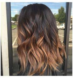 Ombre Hair Color For Brunettes, Brunette Color, Brown Hair Colors, Brunette Hair, Long Brunette, Brown Hair Balayage, Brown Blonde Hair, Brown Hair With Highlights, Light Brown Hair