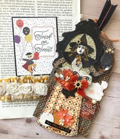 She's headed to her new home to conjure up some spells for Halloween 🤣🤣🤣. Halloween Tags, Halloween Crafts, The Conjuring, Witchcraft, Stamps, Construction, Dolls, Character, Instagram